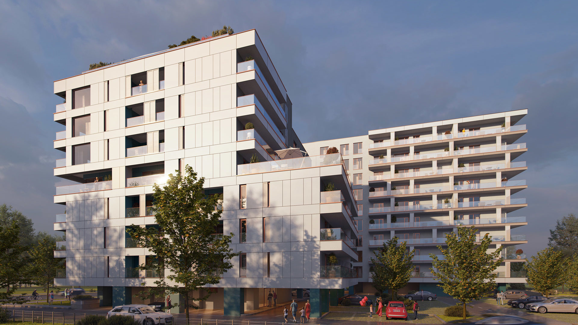 Alusystem delivers aluminum joinery worth about approximately EUR 600,000 for Art City residential project, developed by Bog'Art